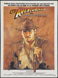 "Raiders of the Lost Ark (Cinema International, 1981). French Petite (15.5"" X 21""). Adventure"