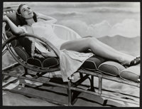 """Joan Crawford (MGM, 1938). Pinup Photo (12.75"""" X 17""""). Miscellaneous"""