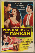 "Movie Posters:Adventure, Prisoners of the Casbah (Columbia, 1953). One Sheet (27"" X 41"").Adventure.. ..."