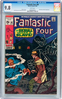 Fantastic Four #90 (Marvel, 1969) CGC NM/MT 9.8 White pages