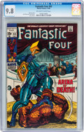 Silver Age (1956-1969):Superhero, Fantastic Four #93 (Marvel, 1969) CGC NM/MT 9.8 Off-white to white pages....