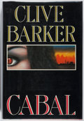 Books:Horror & Supernatural, Clive Barker. SIGNED. Cabal. Poseidon, 1988. First edition, first printing. Signed by the author. Fine....