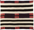 Native American:Textiles, Classic Navajo Second Phase Chief's Blanket collected from the Utesin Colorado. Circa 1865. Length 60 in. Width 67 in.. S...