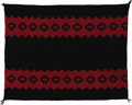 Textiles, Classic Navajo Woman's Manta. Circa 1870. Length 41 in. Width 53 1/2 in.. The design layout on this attractive manta featu... (Total: 1 Item Item)