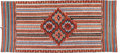 Native American:Textiles, Saltillo Serape. Circa 1870. Length 81 1/2 in. Width 43 1/2 in..This wool blanket is finely woven in two sections, then...