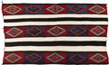 Native American:Textiles, Navajo Third Phase Chief's Pattern Rug. Circa 1920. Length 51 in.Width 74 in.. The design pattern on this rug is a vari...