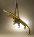 Native American:Weapons, Kiowa Warrior's Bow Case and Quiver. Circa 1870. Length 54 in..This classic set is fashioned from native tanned buffalo h...(Total: 11 Items)
