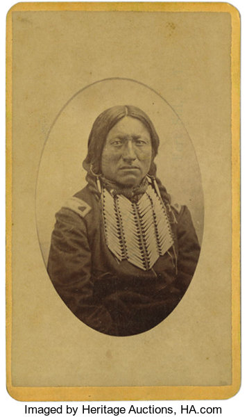 Native AmericanPhotography Carte De Visite
