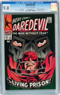 Daredevil #38 (Marvel, 1968) CGC NM/MT 9.8 Off-white to white pages