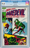 Silver Age (1956-1969):Superhero, Daredevil #49 (Marvel, 1969) CGC NM/MT 9.8 Off-white pages....
