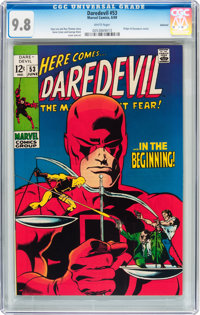 Daredevil #53 Oakland pedigree (Marvel, 1969) CGC NM/MT 9.8 White pages