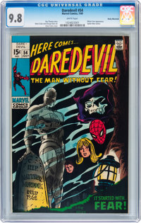 Daredevil #54 Rocky Mountain pedigree (Marvel, 1969) CGC NM/MT 9.8 White pages