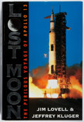 Books:Biography & Memoir, [Astronaut]. Jim Lovell. SIGNED. Lost Moon. HoughtonMifflin, 1994. Twelfth printing. Signed by Lovell, Apollo 13 ...