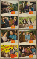 "Movie Posters:Western, Mexicali Rose (Republic, R-1940s). Lobby Card Set of 8 (11"" X 14"").Western.. ... (Total: 8 Items)"