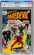 Bronze Age (1970-1979):Superhero, Daredevil #61 Bowling Green pedigree (Marvel, 1970) CGC NM/MT 9.8Off-white to white pages....