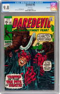Bronze Age (1970-1979):Superhero, Daredevil #66 Pacific Coast pedigree (Marvel, 1970) CGC NM/MT 9.8White pages....