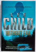 Books:Mystery & Detective Fiction, Lee Child. SIGNED. Without Fail. Bantam, 2002. Firstedition, first printing. Signed by the author. Fine....