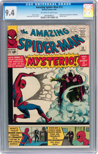 The Amazing Spider-Man #13 (Marvel, 1964) CGC NM 9.4 Off-white to white pages