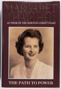 Books:Biography & Memoir, Margaret Thatcher. SIGNED. The Path to Power. HarperCollins, 1995. First American edition, first printing. Sig...
