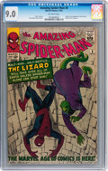 Silver Age (1956-1969):Superhero, The Amazing Spider-Man #6 (Marvel, 1963) CGC VF/NM 9.0 Off-whitepages....