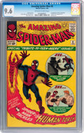Silver Age (1956-1969):Superhero, The Amazing Spider-Man #8 (Marvel, 1964) CGC NM+ 9.6 Off-white towhite pages....