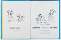 Books:Art & Architecture, [Animation]. Martha Sigall. SIGNED. Living Life [Inside] the Lines. University Press of Mississippi, 2005. First edi...
