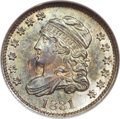 Bust Half Dimes, 1831 H10C MS66 NGC. CAC. V-1, LM-6, R.1....