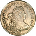 Early Dimes, 1801 10C AU50 NGC. JR-1, R.4....