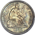 Proof Seated Half Dimes, 1868 H10C PR66 Cameo PCGS. CAC....