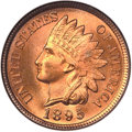 Indian Cents, 1895 1C MS67 Red NGC....