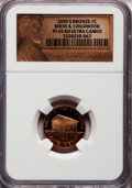 Proof Lincoln Cents, 2009-S 1C Bronze Birth & Early Childhood PR69 Red Ultra CameoNGC. NGC Census: (11870/1881). PCGS Population (4164/329). N...