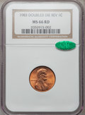 Lincoln Cents: , 1983 1C Doubled Die Reverse MS66 Red NGC. CAC. NGC Census:(217/122). PCGS Population (269/33). Numismedia Wsl. Price for ...