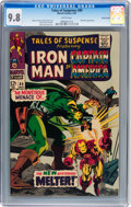 Silver Age (1956-1969):Superhero, Tales of Suspense #89 Pacific Coast pedigree (Marvel, 1967) CGC NM/MT 9.8 White pages....