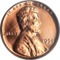Proof Lincoln Cents, 1951 1C PR67 Cameo PCGS....