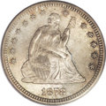 Seated Quarters, 1878-CC 25C MS64+ PCGS. CAC....