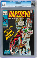 Bronze Age (1970-1979):Superhero, Daredevil #78 Rocky Mountain pedigree (Marvel, 1971) CGC NM/MT 9.8 White pages....