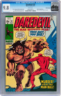 Bronze Age (1970-1979):Superhero, Daredevil #79 Rocky Mountain pedigree (Marvel, 1971) CGC NM/MT 9.8 White pages....