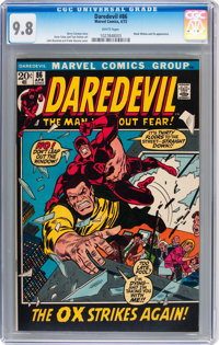 Daredevil #86 (Marvel, 1972) CGC NM/MT 9.8 White pages