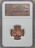 2009 1C Formative Years, First Day of Issue MS66 Red NGC. NGC Census: (0/0). PCGS Population (1742/0). (#407835)...(PCGS...