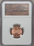 2009 1C Formative Years, First Day Ceremony MS65 Red NGC. NGC Census: (0/0). PCGS Population (5803/1742). (#407835)...(P...