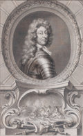 Prints, FREDERICK DUKE OF SCHONBERG . 18th century. 15 x 9-1/2inches (38.1 x 24.1 cm). Engraved by T. Houbraken aft...