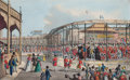 Prints, CORONATION PROCESSION OF HIS MAJESTY GEORGE THE FOURTH. July19, 1821. 11-3/4 x 17-1/2 inches (29.8 x 44.5 cm)...