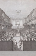 Prints, HOUSE OF COMMONS: SPEAKER, ARTHUR ONSLOW. B. Cole, 19thcentury. 14 x 9 inches (35.6 x 22.9 cm). Engraved by...