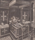Prints, THE MOST HIGH PUISSANT AND EXCELLENT PRINCE HENRY THE GREAT,KING OF FRANCE. 1610. 12 x 8-3/4 inches (30.5 x 22....