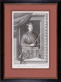 Prints, HENRY II KING OF ENGLAND. 18th century. 11-3/4 x 7-3/4inches (29.8 x 19.7 cm). Engraved by Hulett. Elton Hyder III Co...