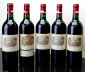 Red Bordeaux, Chateau Lafite Rothschild 1996 . Pauillac. 1lnl, 1wisl.Bottle (5). ... (Total: 5 Btls. )