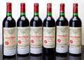Red Bordeaux, Chateau Petrus 1985 . Pomerol. 4lbsl, 1lnc, 5oxc, 1sdc. Bottle (6). ... (Total: 6 Btls. )