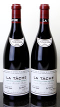 Red Burgundy, La Tache 2005 . Domaine de la Romanee Conti . Bottle (2).... (Total: 2 Btls. )