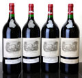 Red Bordeaux, Chateau Lafite Rothschild 1995 . Pauillac. Magnum (4). ...(Total: 4 Mags. )