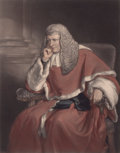 Prints, SIR FRANCIS GRANT (British, 1803-1878). Sir William Erle, Judgeof the Court of Queen's Bench. Color engraving. 80-1/4 x...